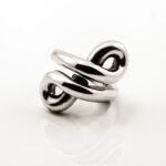anello infinito NP argento